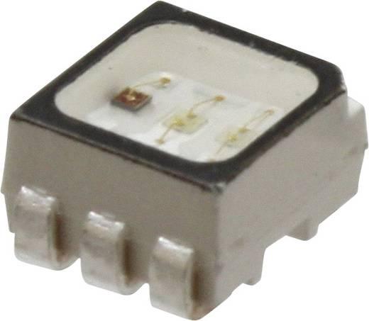 SMD-LED PLCC6 Rot, Grün, Blau 450 mcd, 560 mcd, 180 mcd 120 ° 20 mA 2.1 V, 3.2 V Broadcom ASMT-YTC2-0AA02