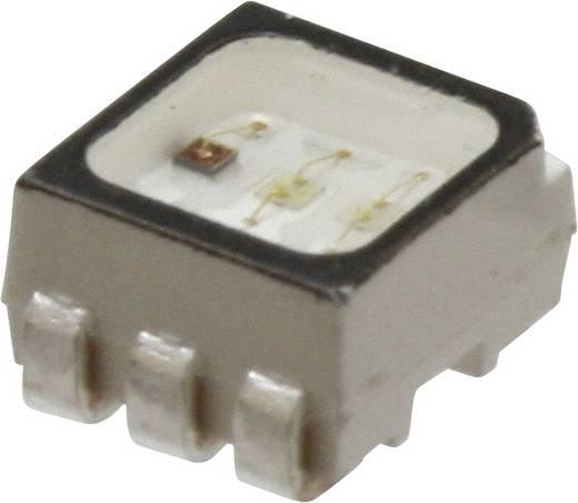 SMD-LED PLCC6 Rot, Grün, Blau 745 mcd, 1600 mcd, 380 mcd 120 ° 20 mA 2.1 V, 3.2 V Broadcom ASMT-YTD2-0BB02