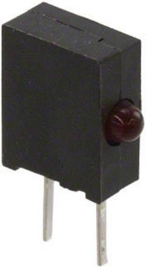 LED bedrahtet Rot Rund 1.8 mm 3.2 mcd 90 ° 50 mA 1.6 V Broadcom HLMP-6000-G0010