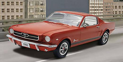 revell 07065 1965 ford mustang 2 2 fastback automodell. Black Bedroom Furniture Sets. Home Design Ideas
