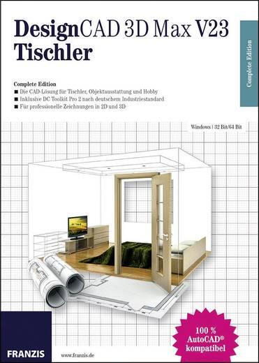 designcad 3d max v23 tischler kaufen. Black Bedroom Furniture Sets. Home Design Ideas