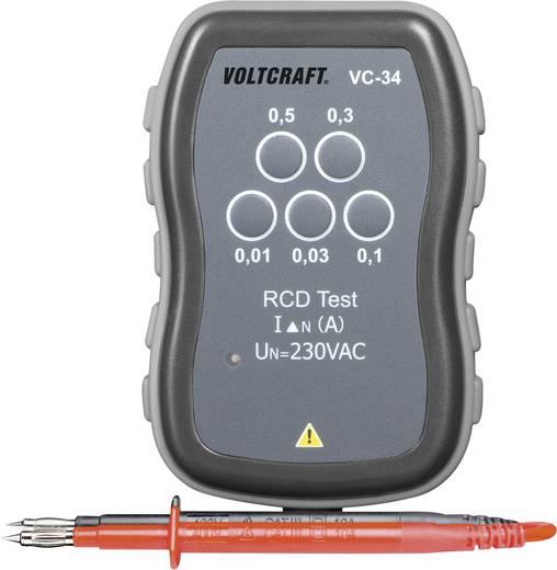 Drehfeldtester VOLTCRAFT VC-34 CAT III 250 V Werksstandard (ohne Zertifikat)