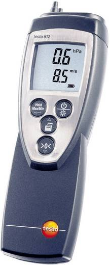 Druck-Messgerät testo 512 (0...200hPa) Luftdruck 0 - 200 hPa Kalibriert nach DAkkS