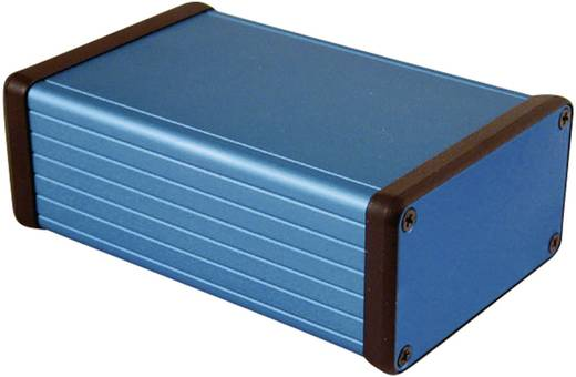 Hammond Electronics 1455K1201BU Universal-Gehäuse 120 x 78 x 43 Aluminium Blau 1 St.