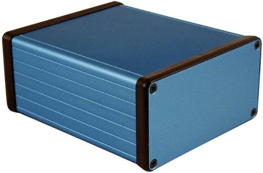 Hammond Electronics 1455N1201BU Universal-Gehäuse 120 x 103 x 53 Aluminium Blau 1 St.