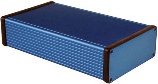 Universal-Gehäuse 220 x 125 x 51.5 Aluminium Blau Hammond Electronics 1455Q2201BU 1 St.