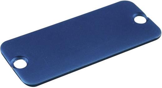 Endplatte Aluminium Blau Hammond Electronics 1455DALBU-10 1 St.