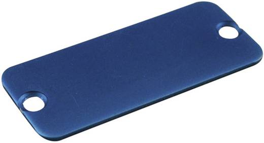 Endplatte Aluminium Blau Hammond Electronics 1455LALBU-10 1 St.