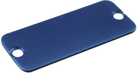 Endplatte Aluminium Blau Hammond Electronics 1455PALBU-10 1 St.