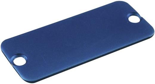 Endplatte Aluminium Blau Hammond Electronics 1455QALBU-10 1 St.