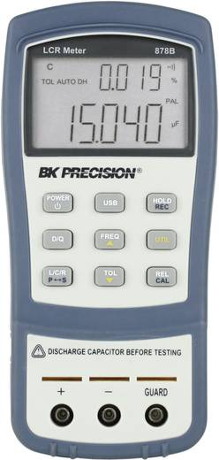 BK Precision BK-878B Komponententester digital Kalibriert nach: ISO CAT I Anzeige (Counts): 40000