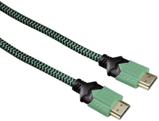 Hama HDMI Anschlusskabel [1x HDMI-Stecker - 1x HDMI-Stecker] 2.5 m Grün
