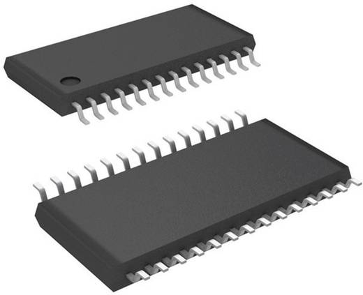 Schnittstellen-IC - Audio-CODEC Texas Instruments TLV320AIC23IPW 16 Bit, 20 Bit, 24 Bit, 32 Bit TSSOP-28 Anzahl A/D-Wand
