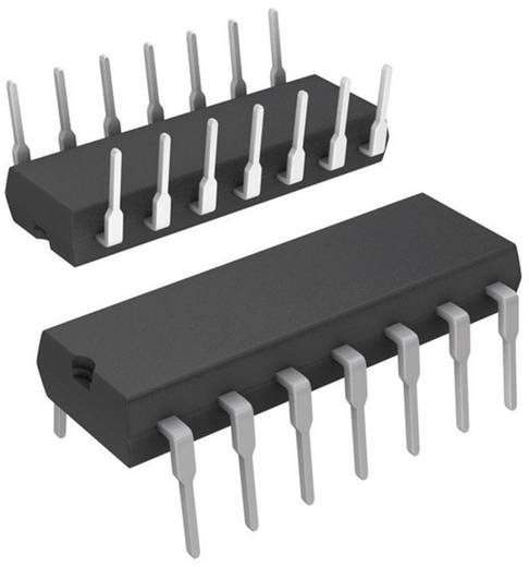 Logik IC - Zähler Texas Instruments SN74LS293N Binärzähler 74LS Positive Kante 42 MHz PDIP-14