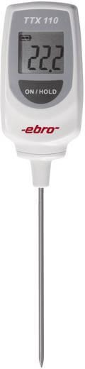 Einstichthermometer (HACCP) ebro TTX 110 Messbereich Temperatur -50 bis 350 °C Fühler-Typ T HACCP-konform Kalibriert nac