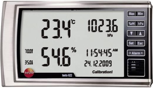 testo 622 Luftfeuchtemessgerät (Hygrometer) 0 % rF 100 % rF Taupunkt-/Schimmelwarnanzeige Kalibriert nach: DAkkS