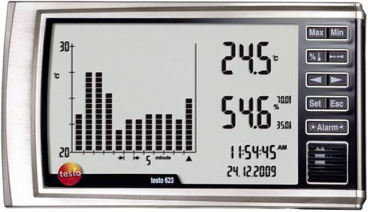 testo 623 Luftfeuchtemessgerät (Hygrometer) 0 % rF 100 % rF Datenloggerfunktion, Taupunkt-/Schimmelwarnanzeige Kalibrier