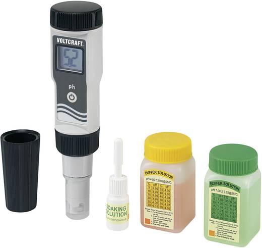 pH-Messgerät VOLTCRAFT PHT-02 ATC 0,01 pH Kalibriert nach Werksstandard (ohne Zertifikat)