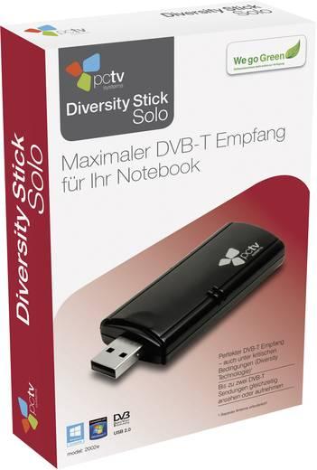 DVB-T TV-Stick PCTV Systems Diversity Stick Solo (2002e) mit DVB-T Antenne, Aufnahmefunktion Anzahl Tuner: 2