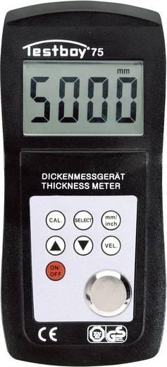 Materialdicken-Messgerät 1.2 - 200 mm Testboy 75 Kalibriert nach ISO