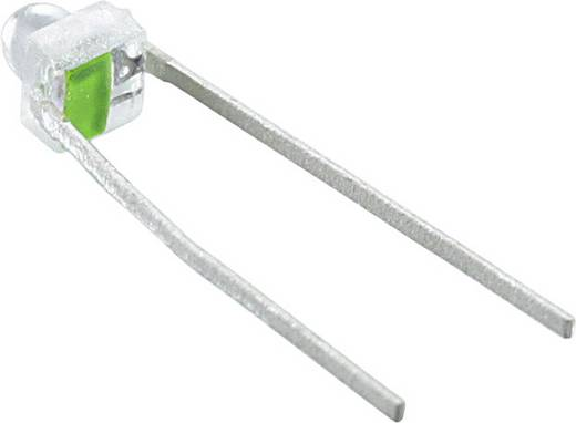 LED bedrahtet Grün Rund 1.9 mm 40 mcd 28 ° 30 mA 2.1 V Broadcom HLMP-6505-L001L