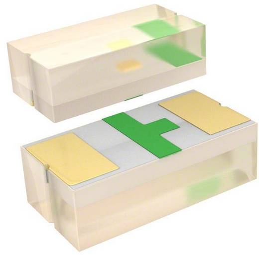SMD-LED 1005 Grün 15 mcd 130 ° 20 mA 2.2 V Broadcom HSMG-C280