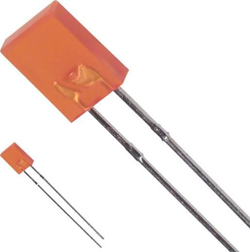 LED bedrahtet Bernstein Rechteckig 2 x 5 mm 5 mcd 110 ° 30 mA 2 V LUMEX SSL-LX2573AD