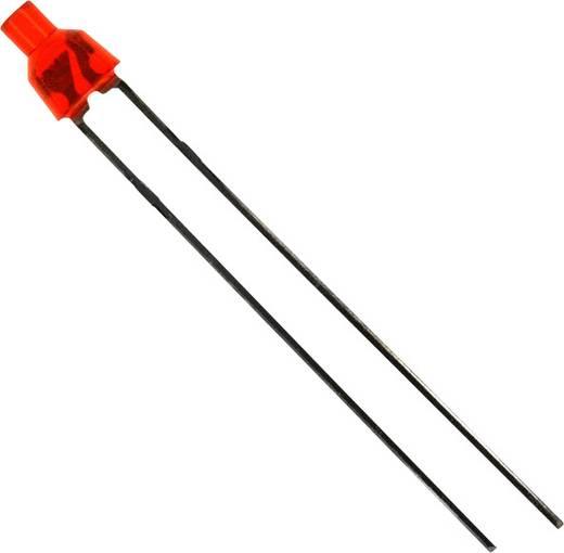 LED bedrahtet Rot Rund 2 mm 25 mcd 70 ° 30 mA 2 V LUMEX SSL-LX20465ID