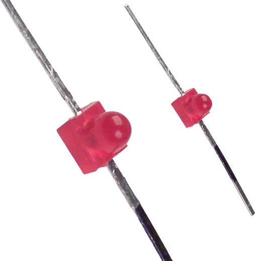 LED bedrahtet Rot Rund 1.9 mm 25 mcd 50 ° 30 mA 2 V LUMEX SSL-LXA228ID