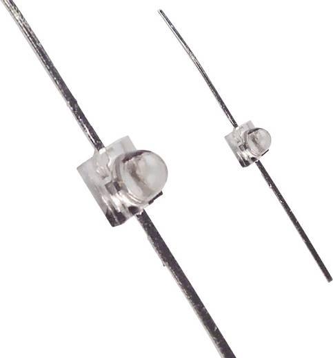 LED bedrahtet Rot Rund 1.9 mm 600 mcd 25 ° 25 mA 1.7 V LUMEX SSL-LXA228SRC