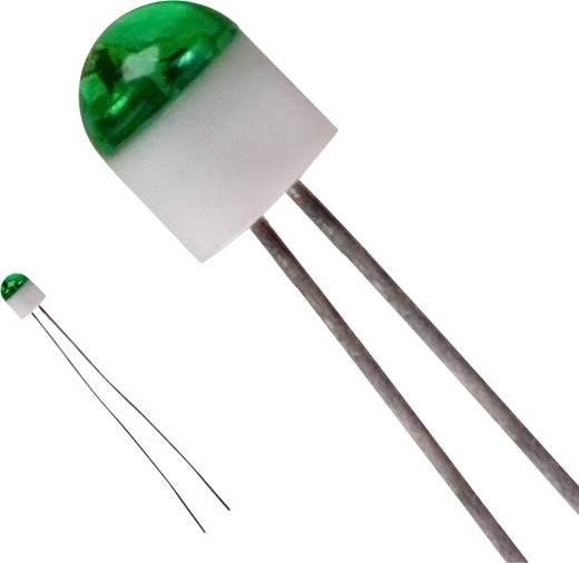 LUMEX SSL-LX203CGT LED bedrahtet Grün Rund 2 mm 6 mcd 160 ° 25 mA 2.2 V