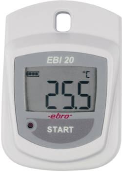 Enregistreur de données de température Etalonnage ISO ebro EBI 20-T1-Set 1601-0046
