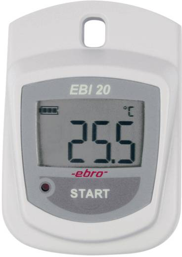 Temperatur-Datenlogger ebro EBI 20-T1-Set Messgröße Temperatur -30 bis +70 °C Kalibriert nach DAkkS