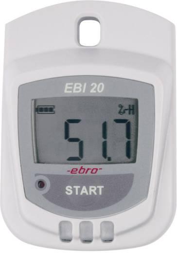 Multi-Datenlogger ebro EBI 20-TH1 Messgröße Luftfeuchtigkeit, Temperatur -30 bis 60 °C 0 bis 100 % rF Kalibriert nach Werksstandard