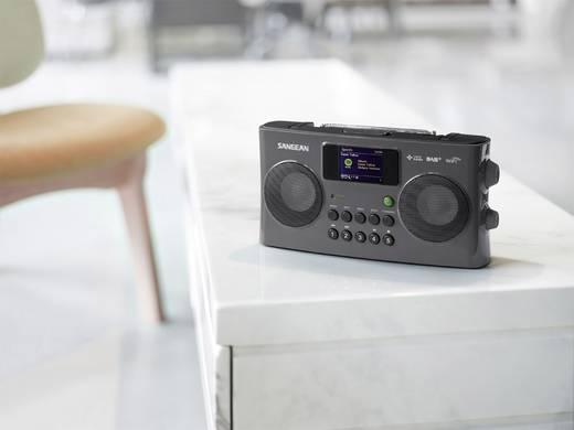 Internet Kofferradio Sangean WFR-29C AUX, DAB+, UKW, USB DLNA-fähig, Akku-Ladefunktion Schwarz