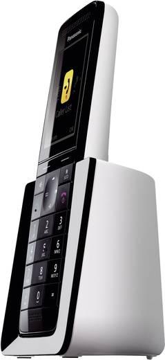 Schnurloses Telefon analog Panasonic KX-PRS120 Anrufbeantworter, Babyphone Schwarz, Weiß