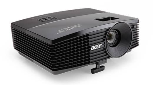DLP Beamer Acer P5207B Helligkeit: 4000 lm 1024 x 768 XGA 10.000 : 1 Schwarz