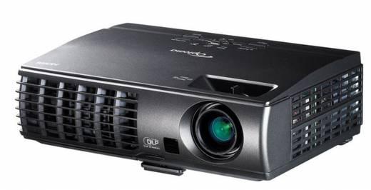 DLP Beamer Optoma E1P1D0H1E001 Helligkeit: 3000 lm 1024 x 768 XGA 10000 : 1 Schwarz