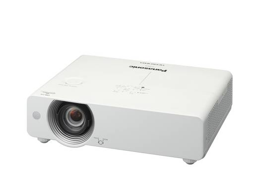 LCD Beamer Panasonic PT-VW431D Helligkeit: 4300 lm 1280 x 800 WXGA 3500 : 1 Weiß