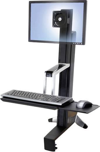 """Monitor-Tischhalterung 25,4 cm (10"""") - 61,0 cm (24"""") Neigbar, Rotierbar Ergotron WorkFit-S"""