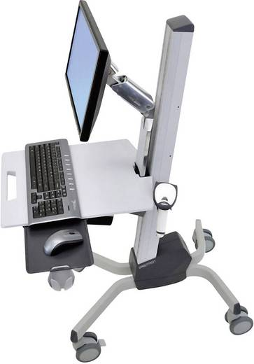 """Monitor-Rollwagen 25,4 cm (10"""") - 55,9 cm (22"""") Neigbar+Schwenkbar, Rotierbar Ergotron Neo-Flex® LCD-Wagen"""
