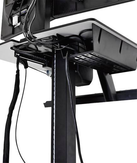 """2fach Monitor-Rollwagen 25,4 cm (10"""") - 61,0 cm (24"""") Rotierbar Ergotron WorkFit-C"""