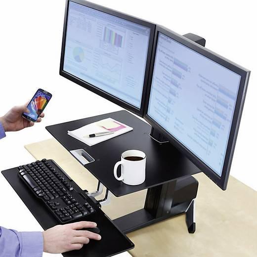 """Ergotron Work-Fit-S 2fach Monitor-Tischhalterung 25,4 cm (10"""") - 61,0 cm (24"""") Rotierbar"""