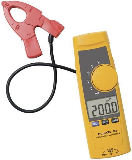 Stromzange, Hand-Multimeter digital Fluke 365 Kalibriert nach: ISO CAT III 600 V, CAT IV 300 V Anzeige (Counts): 2000