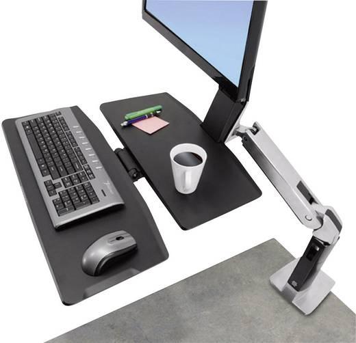 """Ergotron WorkFit-A, LCD HD mit Arbeitsfläche+ Monitor-Tischhalterung 25,4 cm (10"""") - 76,2 cm (30"""") Neigbar+Schwenkbar,"""