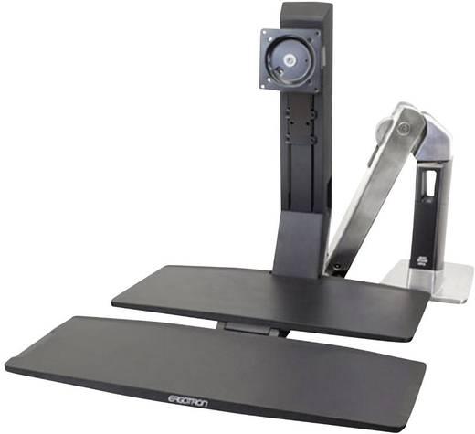 """Monitor-Tischhalterung 25,4 cm (10"""") - 76,2 cm (30"""") Neigbar+Schwenkbar, Rotierbar Ergotron WorkFit-A, LCD HD mit Arbei"""