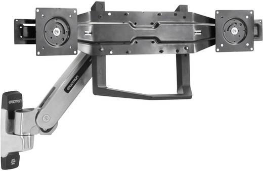 Dual-Monitor-Adapter mit Griff Passend für Serie: Universal Ergotron Schwarz