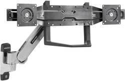Image of Dual-Monitor-Adapter mit Griff Passend für Serie: Universal Ergotron Schwarz