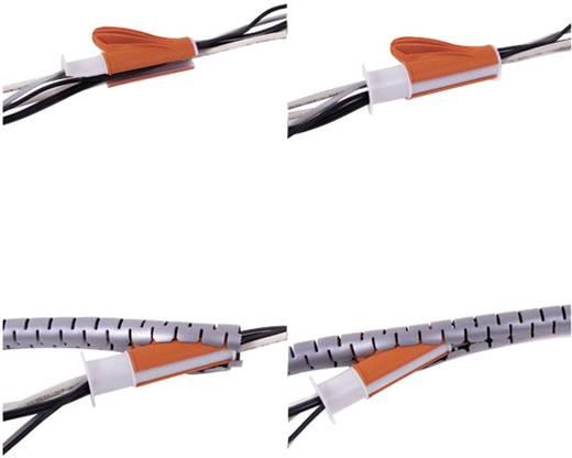 Dataflex Kabelschlucker ø20/3m inkl. Einzughilfe Weiß