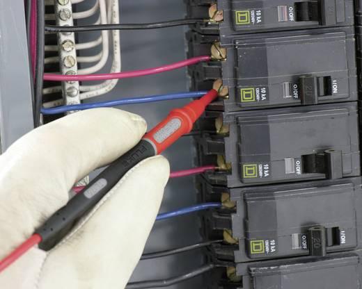 Sicherheits-Messleitungs-Set [ Lamellenstecker 4 mm - Prüfspitze] 1.20 m Schwarz, Rot Fluke TL175E